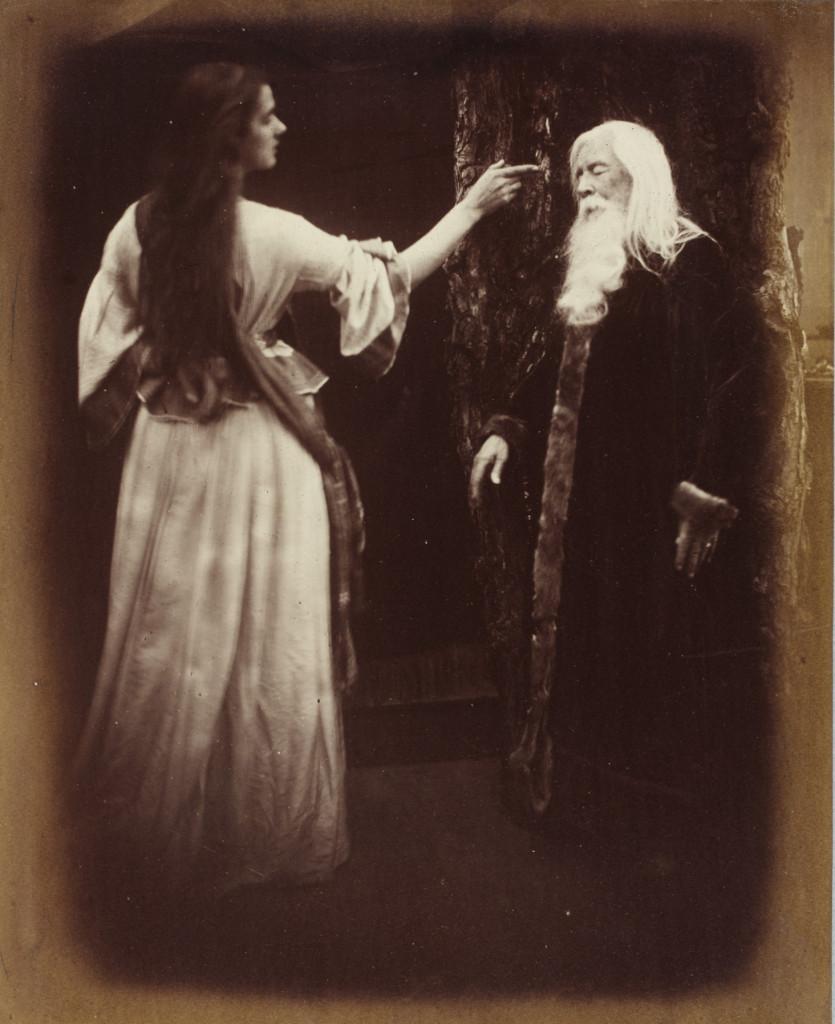 Julia Margaret Cameron's Viven and Merlin
