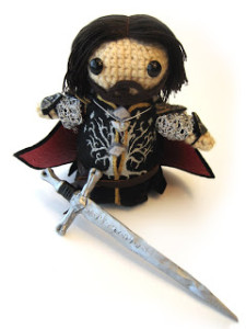 Lord of the Rings amugurumi by Geek Central Station