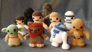 Star Wars Amigurumi by Lucy Ravenscar