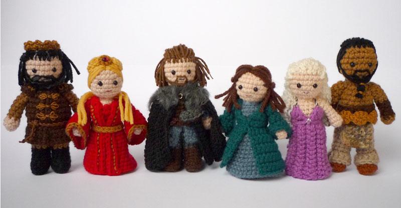 Game Of Thrones Amigurumi Pattern Free : Fantasy Character Crochet Artifacts Stace Dumoski