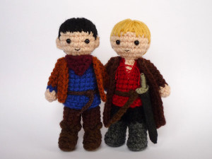 Merlin and Arthur by Luna's Crochet