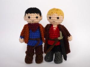 Merlin and Arthur by Luna's Crochet